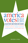 America Votes 31: 2013-2014, Election Returns by State