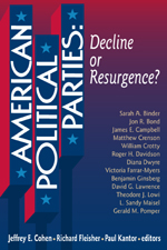"American Political Parties: Decline <span class=""hi-italic"">or</span> Resurgence?"