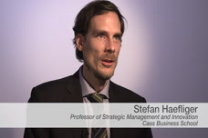 Stefan Haefliger Discusses Open and User Innovation