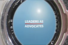 Leaders As Advocates