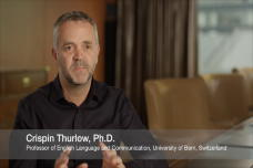Crispin Thurlow Discusses Digital Communication
