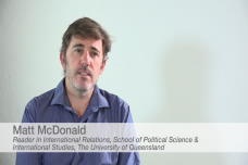 Matt McDonald Discusses Australian Foreign Policy