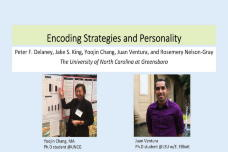 Encoding Strategies and Trait Conscientiousness