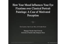 How Your Mood Influences Your Eye Fixations Over Classical Portrait Paintings: A Case of Motivated Perception