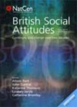 British Social Attitudes, The 20th Report: Continuity and Change Over Two Decades