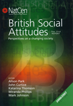 British Social Attitudes: The 23rd Report: Perspectives on a Changing Society