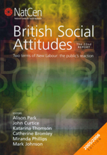British Social Attitudes, the 22nd Report: Two Terms of New Labour: The Public's Reaction