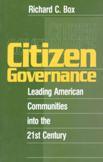 Citizen Governance: Leading American Communities into the 21st Century