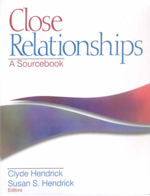 Close Relationships: A Sourcebook