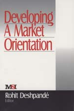 Developing a Market Orientation