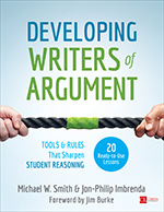 Developing Writers of Argument: Tools and Rules That Sharpen Student Reasoning
