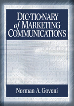 "Dictionary <span class=""hi-italic"">of</span> Marketing Communications"