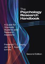 The Psychology Research Handbook: A Guide for Graduate Students and Research Assistants