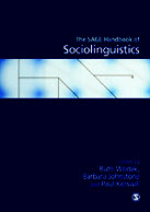 The SAGE Handbook of Sociolinguistics