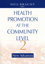 Health Promotion at the Community Level: New Advance