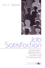 Job Satisfaction: Application, Assessment, Causes, and Consequences