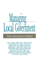 Managing Local Government: Public Administration in Practice