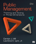 Public Management: Thinking and Acting in Three Dimensions