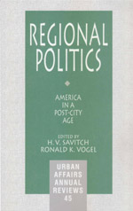 Regional Politics: America in a Post-City Age