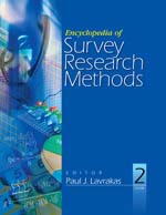Encyclopedia of Survey Research Methods
