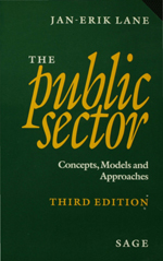The Public Sector: Concepts, Models and Approaches