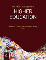 The SAGE Encyclopedia of Higher Education
