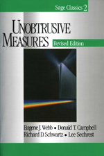 Unobtrusive Measures, Revised Edition