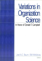 Variations in Organization Science: In Honor of Donald T. Campbell