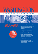Washington Information Directory 2005–2006