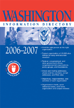 Washington Information Directory 2006–2007