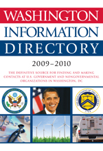 Washington Information Directory 2009–2010