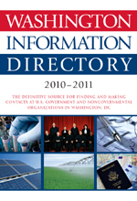 Washington Information Directory 2010–2011