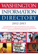 Washington Information Directory 2012–2013