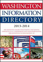 Washington Information Directory 2013–2014