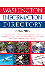 Washington Information Directory 2014–2015