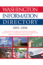 Washington Information Directory 2015–2016