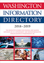 Washington Information Directory 2018–2019