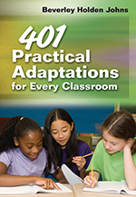 "<span class=""hi-italic"">401</span> Practical Adaptations for Every Classroom"