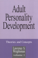 Adult Personality Development: Theories and Concepts
