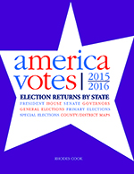 America Votes 32: 2015-2016, Election Returns by State