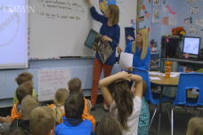 Noticing and Naming in a Reading Lesson: Third Grade