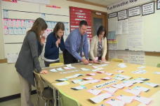 Using Stickies to identify student needs