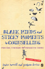 Blank Minds and Sticky Moments in Counselling: Practical Strategies and Provocative Themes