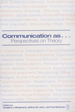 Communication as…: Perspectives on Theory