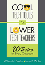 """Cool Tech Tools <span class=""""hi-italic"""">for</span> Lower Tech Teachers: <span class=""""hi-italic"""">20 Tactics</span> for Every Classroom"""