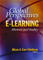 """<span class=""""hi-italic"""">Global Perspectives on</span> E-Learning: Rhetoric and Reality"""