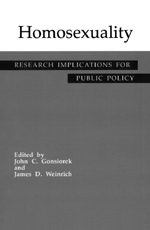 Homosexuality: Research Implications for Public Policy