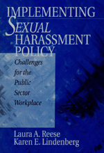 """Implementing <span class=""""hi-italic"""">Sexual</span> Harassment Policy: Challenges for the Public Sector Workplace"""