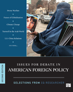 """Issues for Debate in American Foreign Policy: Selections from <span class=""""hi-bold"""">CQ Researcher</span>"""