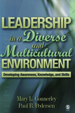 """Leadership <span class=""""hi-italic"""">in a Diverse and Multicultural</span> Environment: Developing Awareness, Knowledge, and Skills"""